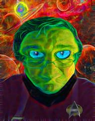alien selfie (Bill Sargent) Tags: alien selfie seriouslyselfies sotn shockofthenew fantasy portrait digital painting digitalpainting digitalart