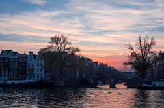 A0041091 (rpajrpaj) Tags: amsterdam canals city cityscape sunset amstel