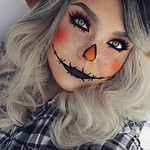 Best Ideas For Makeup Tutorials : This pretty AF scarecrow.   21 Ridiculously Pretty Makeup Looks To Try This Hall... thumbnail