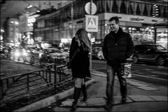 DRD160401_0738 (dmitryzhkov) Tags: russia moscow documentary street life human lowlight night monochrome reportage social public urban city photojournalism streetphotography people bw nightphotography dmitryryzhkov blackandwhite everyday candid stranger