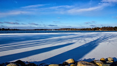 'Winter Blues' First Ice (Bob's Digital Eye) Tags: blue bobsdigitaleye canon efs1855mmf3556isii flicker flickr ice laquintaessenza lakeice lakeinwinter lakescape november2018 t3i sky snow landscape bobsdigitaleye2