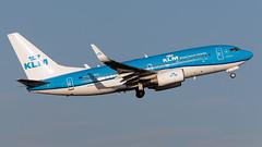 KLM PH-BGI 737-7K2 EGCC 18.11.2018 (airplanes_uk) Tags: 18112018 737 aviation boeing klm man manchesterairport phbgi planes
