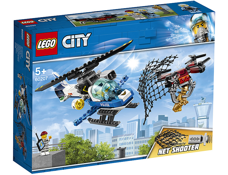 2019 lego city sky police theme set pictures candidbricks. Black Bedroom Furniture Sets. Home Design Ideas