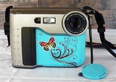 Pimped Sony Mavica FD71 (Twila1313) Tags: pimped art paintedcamera artcamera pimpedup pimpedcamera sonymavicafd71 retro mod groovy cool