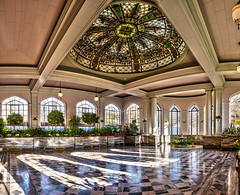 Casa Loma Conservatory (Rodrick Dale) Tags: casa loma conservatory toronto ontario canada panorama