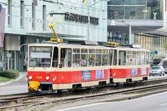 BTS_7939_201811 (Tram Photos) Tags: ckd tatra t6a5 bratislava dopravnýpodnikbratislava dpb strasenbahn tram tramway električková mhd električka