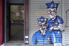 sickid (Luna Park) Tags: ny nyc newyork manhattan graffiti sickid lunapark acab nypd pigs