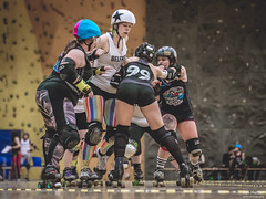 68 (Jan Hutter) Tags: belfast belfastrollerderby northernireland praguecityrollerderby wftda womensflattrackderbyassociation autumn contact czech czechrepublic girls indoor ladies november prague rollerderby rollerskates sport women