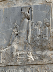 005 Hundred Column Hall (Sedsetoon), North Doorway, Persepolis  (1).JPG (tobeytravels) Tags: artaxerxes xerxes ahurmazda alexanderthegreat
