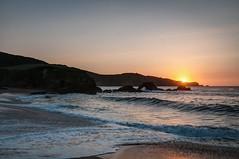 Resaca (ccc.39) Tags: asturias verdicio playa tenrero atardecer puestadesol arena agua resaca mar cantábrico olas sol sea seascape sunset beach water waves