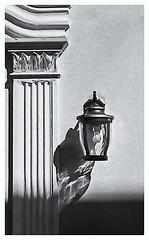Pentax Auto 110 (1978) (Black and White Fine Art) Tags: pentaxauto1101978 pentax11050mmf28 pentaxmini pentax 10format formato110 smallformat formatopequeño sanjuan oldsanjuan viejosanjuan puertorico bn bw lampara lamp streetlamp lamparacallejera