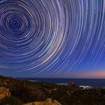 Star Trails - Cape Naturaliste, Western Australia thumbnail