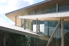 Junko Fukutake Hall, SANAA (davidaewen) Tags: architecture okayama japan junko fukutake hall sanaa kazuyo sejima ryue nishizawa