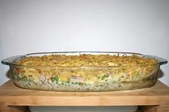 33 - Spaghetti ham casserole with yoghurt sauce - Finished baking 2 / Spaghetti-Schinken-Auflauf mit Joghurtguss - Fertig gebacken 2 (JaBB) Tags: spaghetti nudeln noodles ham schinken speck speckwürfel bacon dicedbacon scallions frühlingszwiebeln yoghurt joghurt cremefraiche eier eggs sahne cream auflauf nudelaufauf pasta pastabake knoblauch garlic foodl lunch dinner essen nahrung nahrungsmittel mittagessen abendessen kochen cooking rezept recipe kochexperiment kochexperimente küche kitchen foodblog foodblogger