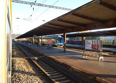 Prague Vrsovice - 10-10-2018 (agcthoms) Tags: czechrepublic prague praha station railways trains cd ceskedrahy czechrailways vrsovice