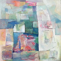 Abstract (NZbeauty) Tags: oilpainting painting abstract 2018 composition