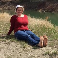 18118810_1305265886189202_3878315630135886564_n (paulswentkowski1983) Tags: dirty feet soles filthy female barefooters