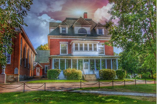 Malone New York - Former Clergy House - Historic Building