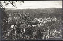 Postkort fra Agder (Avtrykket) Tags: bolighus hus postkort skog uthus tvedestrand austagder norway nor