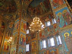 Mosaic in the Church of the Savior on Blood, St. Petersburg (janepesle) Tags: russia travel saintpetersburg decoration church indoor orthodox icon россия санктпетербург церковь