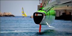 bon vent à la Route du Rhum ! (Save planet Earth !) Tags: france nice amcc nikon ultime sodebo bateau