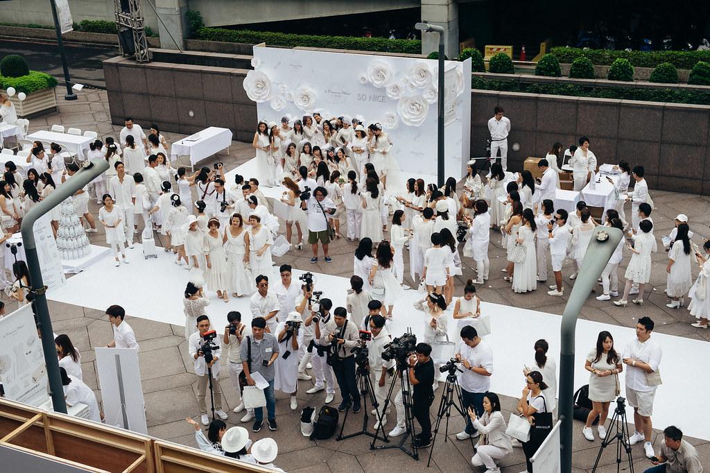 《商業攝影》白色野餐 Le Déner en Blanc