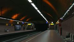 U Bahn Station (frankdorgathen) Tags: alpha6000 sony sony35mm city urban transportation transport essen ruhrpott ruhrgebiet rüttenscheid rüttenscheiderstern bahnhof haltestelle station ubahn