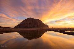 Morro Bay sunset reflections (Lisa Roeder) Tags: sunset morrobay reflections