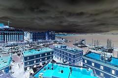 Another point of view... (giobertaskin) Tags: canon rain pioggia porto casteldell'ovo napoli colore inversione