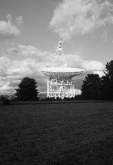 GBT B&W (lewisfrancis) Tags: fujichromeprovia100f film analog telescope radioastronomy astronomy gbt superikonta zeiss ikon 120 bw monochrome greenbank zeisikonsuperikontaii 6x9