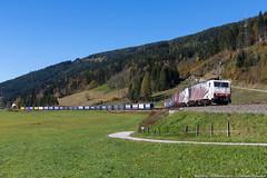 Da Krefeld a Trieste... (Damiano Piovanelli) Tags: lokomotion loko e189905 e189 siemens es64f4 ferrovie ferrovia bahn ennstal österreich öbb br189 railtractioncompany railtracioncompany rail