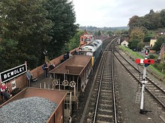 50008 Bewdley (Flikrman Gaz) Tags: bewdley severnvalleyrailway englishelectric class50 train locomotive signal sign