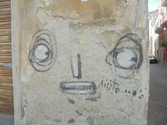 aiuto... (en-ri) Tags: mr fijofor nero bianco cuneo wall muro graffiti writing faccia face viso volto