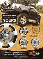 2010 Mullins Wheels CSA Direct 4X4 Alloy Wheels Toyota Hilux Dual Cab Ute Utility Aussie Original Magazine Advertisement (Darren Marlow) Tags: 1 2 4 20 10 2010 m mullins w wheels c s a csa d direct 4x4 alloy mag mags t toyota h hilux 10s