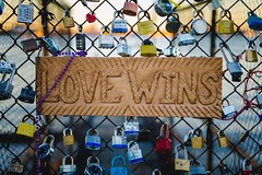 Love wins (yusuf.ronco) Tags: colorful gold lovewins bigeasy locks tokina2870 tokinaatxpro28mm70mmf2628 tokina goldenhour sunset marriage engagement love nola neworleans fx nikond610