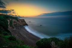 Seascape (magic_med) Tags: seashore seascape sea waves stones rocky rocks sunset sunrise twilight gounini tipaza cherchell algeria nikon d800 landscape