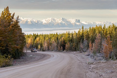 Sunrise on Willow Creek Rd (Blue Trail Photography) Tags: mountain rocky rockies alberta canada north outdoor willow creek road hinton jasper forest wilderness nature