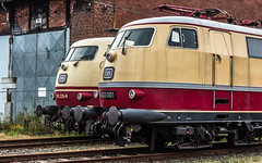 E03 001 & 103 235 - Hamburg Eidelstedt (Pau Sommerfeld Acebrón) Tags: