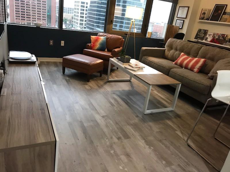 Gray Ash Wood Look Vinyl Flooring Cali Bamboo