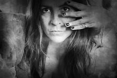 Le chat noir ([marta díez . fotografía]) Tags: selfportrait autorretrato me blancoynegro bw monochrome misterio mistery