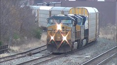 CSX freight train (17 November 2018) (Marion, Ohio, USA) 4 (James St. John) Tags: marion ohio csx freight train trains