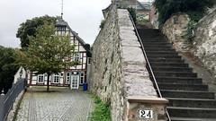 Wetzlar, Hessen/Deutschland (09/2016) (Migathgi) Tags: f030 hessen wetzlar deutschland altstadt migathgi 2016 treppe fachwerk