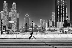 West 34th Street (erichudson78) Tags: usa nyc newyorkcity west34thstreet manhattan street rue paysageurbain urbanlandscape canoneos6d canonef24105mmf4lisusm building sky skyline skyscraper ciel gratteciel personne people femme woman noiretblanc blackandwhite absoluteblackandwhite loneliness alone seule