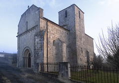 L'Église Saint-Martial, view from SW (jonathan charles photo) Tags: églisestmartial gourvillette france winter morning art photo jonathan charles 17490 charente