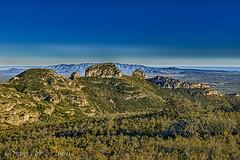 ELS TRES CASTELLS (juan carlos luna monfort) Tags: montaña roca piedra arboles lasenia cieloazul paisaje landscape paisatge hdr mar nikond7200 irix15 calma paz tranquilidad