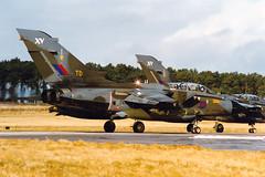 Tornado GR1 ZA587 'TD' XV(R) Squadron (Mark McEwan) Tags: panavia tornado tornadogr1 za587 xvrsquadron 15squadron royalairforce raf raflossiemouth lossiemouth aviation aircraft airplane military