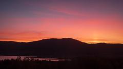 Sunset at Henry's Lake (San Francisco Gal) Tags: sunset henryslake idaho september 2018 mountain sawtellmountains islandpark
