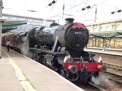 48151 at carlisle (47604) Tags: 48151 stanier steam engine carlisle