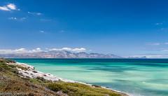 False Bay (Johan Grobbelaar) Tags: landskap valsbaai landscape mountains sea turquoise water clouds
