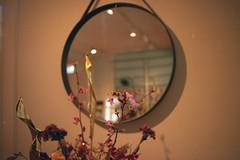temporary infinity (jesuiselouise) Tags: minoltasrt100x agfavista mirror analog film hayhouse copenhagen denmark flowers 35mm
